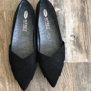 Dr Scholl's Be Free Corduroy Flats NWOT Comfy Cute